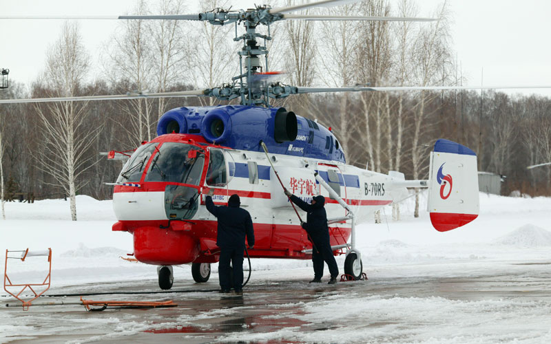 Вертолёт Ка-32А11ВС