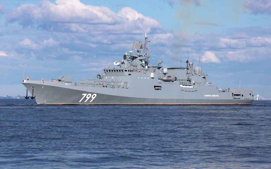 "Фрегат ""Адмирал Макаров"" проекта 11356Р/М"