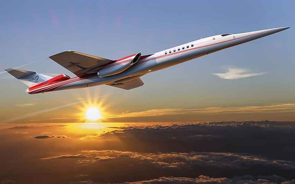 Business-jet AS2 Aerion SBJ