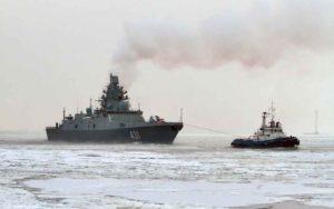 """Первый серийный фрегат """"Адмирал Касатонов"""" проекта 22350"""