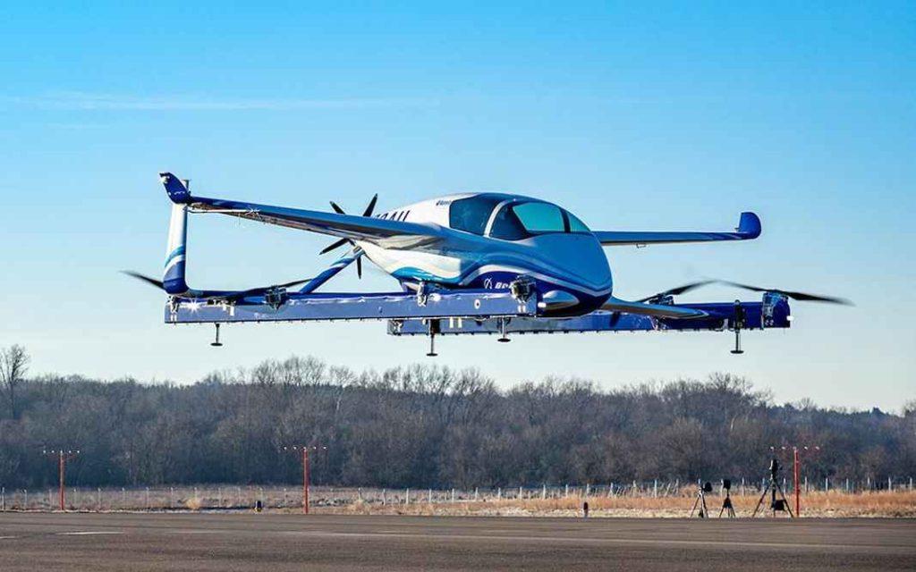 Прототип электрического БЛА с вертикальным взлетом и посадкой (eVTOL)
