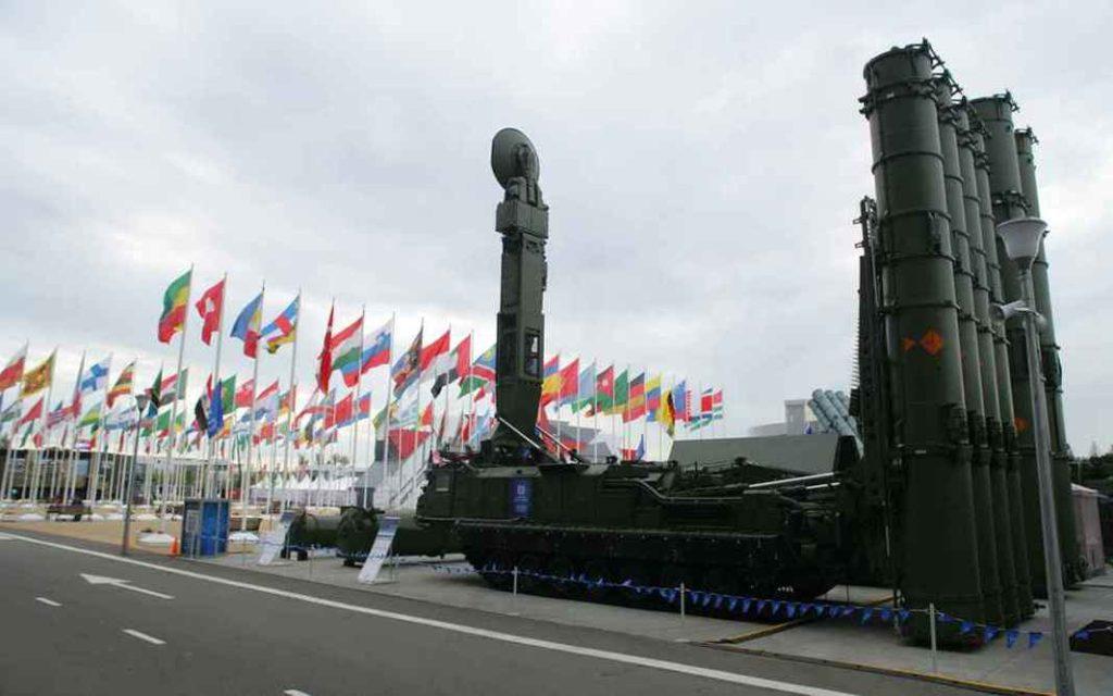 ЗРС Антей-2500 С-300ВМ