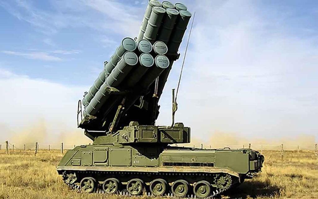 """Зенитный ракетный комплекс (ЗРК) """"Бук-М3"""""""