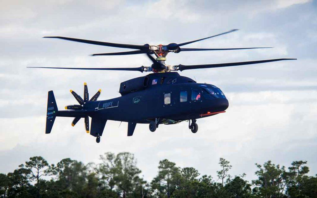 Вертолёт Sikorsky-Boeing SB-1 DEFIANT