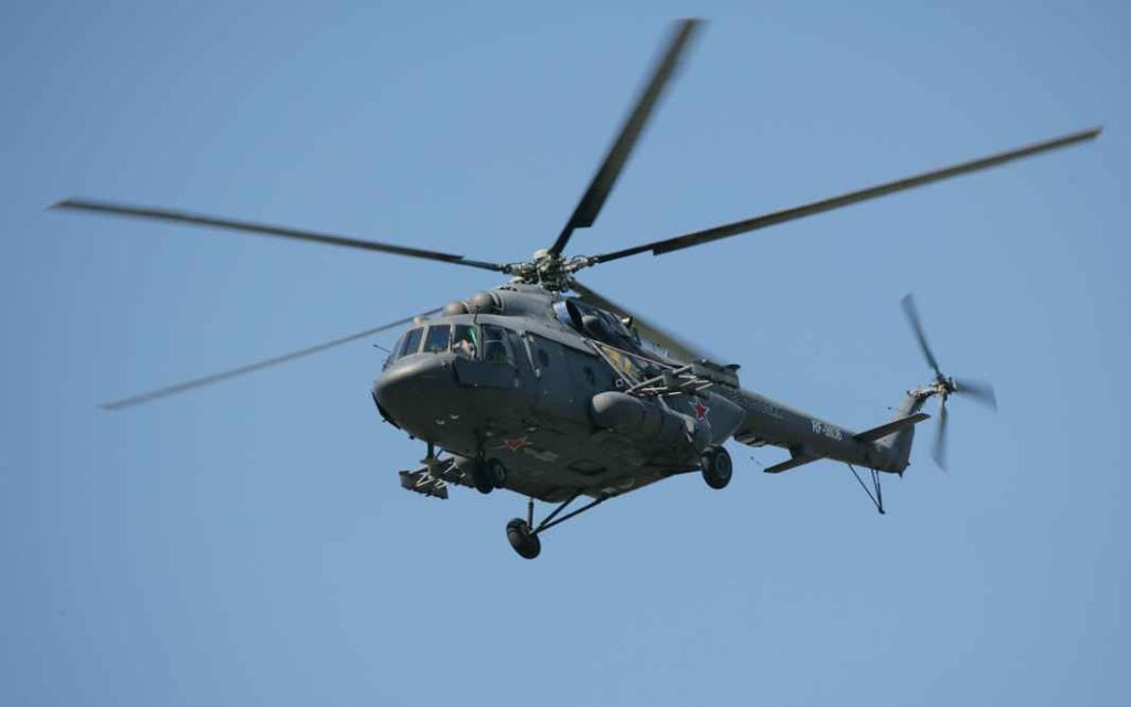Военно-транспортный вертолёт Ми-8МТ