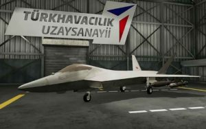 Первый турецкий истребитель пятого поколения TF-X